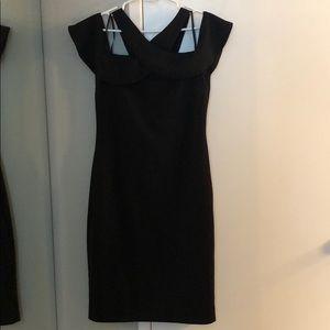 Black Cold Shoulder Dress